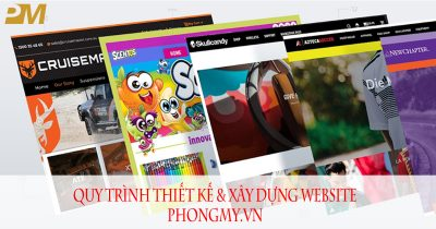 6 Quy trình thiết kế website tại Phong Mỹ Design